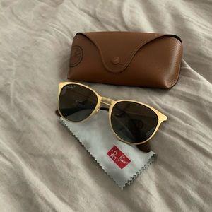 Gold Ray-Ban 3935 Sunglasses